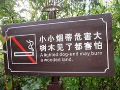 Chinese-English A case of right graphic, but wrong kind of butt, results in a funny translation of a park sign. Lost In Translation, Sign Quotes, Funny Quotes, Funny Translations, Get Off My Lawn, Sign Language Phrases, Youre Doing It Wrong, Wtf Moments, Parking Signs