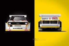 Audi Quattro S1 art #audi #quattro