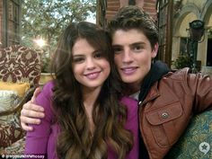 Selena Gomez andGregg Sulkin