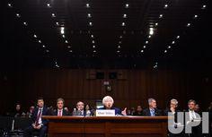 Fed Chair Janet Yellen testifies on the Economic Outlook in Washington, D.C.