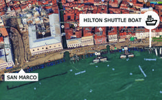 Moving around Venice has never been easier with the Hotel Shuttle Service and the public transportation Actv. Venice Boat, Stucky, Public Transport, Transportation, Italy, San, Holiday, Italia, Vacations