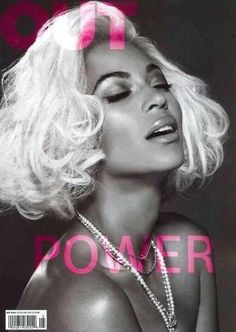 Beyoncé Covers Out Magazine Power Issue   May  2014