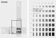 Creative Rndmbks, Layouts, Poster, Process, and Indd image ideas & inspiration on Designspiration Grid Design, Graphic Design, Editorial Design, Design Process, Minimalist Design, Dark Side, Cool Designs, Presentation, Typography