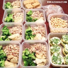 Meal Prep DONE for Week of JELF ?Breakfast: 2 Egg white spinach muffins & half a cup of chickpeas ?Snacks: Baked Sweet potatoes, Jamie Eason Carrot Protein Bars AND Lean Venison Meatballs, still in Healthy Diet Recipes, New Recipes, Dinner Recipes, Healthy Eating, Dinner Ideas, Jamie Eason Live Fit, Venison Meatballs, Chicken Snacks, Good Food