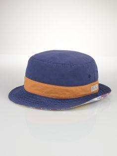 51b4a8f7aeb Reversible Plaid Bucket Hat - Polo Ralph Lauren Hats   Scarves -  RalphLauren.com