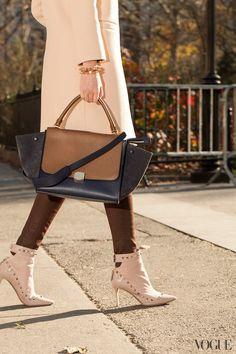 Dress like a Vogue Editor   Photo Gallery - Yahoo! Shine -- love those boots!