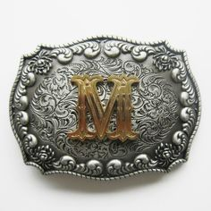 4e514ed03e875 Original Western Flower Pattern Belt Buckle Gurtelschnalle also Stock in US