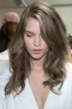 Light ash brown hair color for fair skin