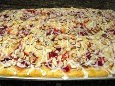 Cream Cheese Cherry Danish Coffeecake