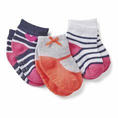 3-Pack Baby Socks