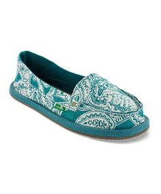 Take a look at the Peacock Shorty Wrapped Slip-On Shoe - Women on #zulily today!