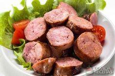 Receita de Linguiça na cachaça - Comida e Receitas