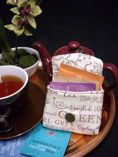 Tea Bag Travel Wallet - Cream Tea, $9.95