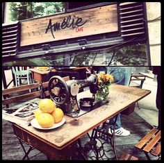 Amelie café in Belgrade Serbia. Good coffee and cute cozy atmosphere
