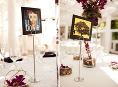 music themed centerpieces