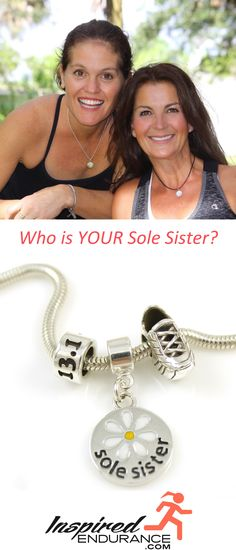 Who is YOUR Sole Sister? Is she the one waiting for you at 5am or the one who inspired you to run? Celebrate her today with our new Sole Sister collection.