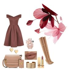 """""""Autumn"""" by antoniarauss on Polyvore featuring Balmain, Chi Chi, Valentino, Panacea, Lipsy, Yves Saint Laurent and Viktor & Rolf"""