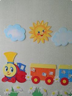 оформление детского сада из потолочных плит фото 4