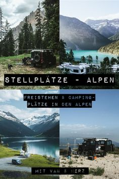 Pitches in the Alps - Free places in the Alps for your Road trip stand & camping - Places To Travel, Travel Destinations, Places To Go, Wallpaper Travel, Aesthetic Couple, California Camping, Reisen In Europa, Camping Photography, Roadtrip