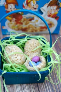 Rice Krispies Surprise Eggs Treats for Easter {ad}