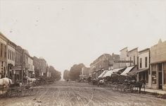 RP: main Street (dirt) , MARCELLUS , Michigan , 00-10s - bidStart (item 49059529 in Postcards... Other)