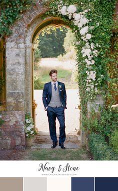 'The Garden of England' - Romantic English Wedding Inspiration - Chic Vintage Brides Wedding Groom, Chic Wedding, Wedding Styles, Luxury Wedding, Elegant Wedding, Perfect Wedding, Brunch Wedding, Blue Wedding, Wedding Hair