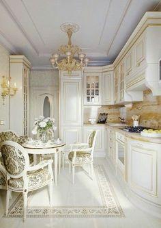 Ideas Home Office Decor Layout Elegant Kitchens, Luxury Kitchens, Beautiful Kitchens, Home Kitchens, Kitchen Pantry Design, Luxury Kitchen Design, Modern House Design, Home Office Decor, Home Decor Kitchen