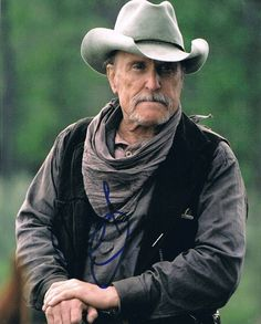 "Robert Duvall ~I love him! One of the finest if not the ""finest"" actor ever that has played in all of the western film in this entire generation of film making as we know it today!"