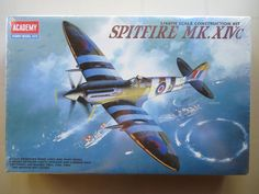 Academy Spitfire MK XIVc Fighter Plane Factory Sealed # 2157 Scale 1:48 by Quadracove on Etsy