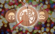 Star Wars Christmas Ornaments https://youtu.be/BGfLHwR-_Is