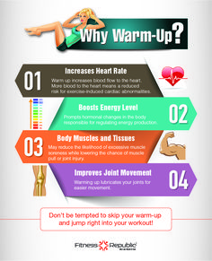 Things Not To Do When Warming Up
