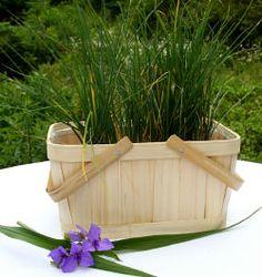 Bamboo Rectangular Shopping Basket