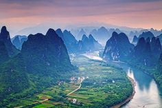 Li River / Guilin, China. By Helminadia Ranford      I loved it here when I visited! I would love to go back <3