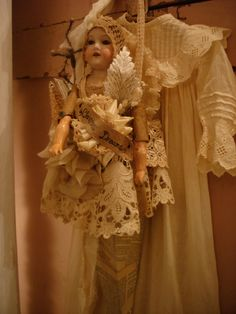 oh i want to do something like this with one of my old dolls