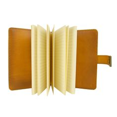 Excited to share the latest addition to my #etsy shop: Big leather notebook with password lock in Yellow color Travelers Journal Notebook Planner with inserts Journal Planner School Notebook Natural Tan, Natural Leather, School Notebooks, Leather Notebook, Writing Paper, Journal Notebook, Leather Cover, Zip Around Wallet, Great Gifts