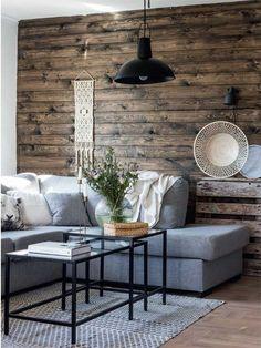 Intérieur bois en Suède