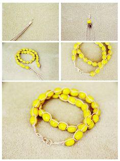 Fall For DIY Wrap up Bracelets 3