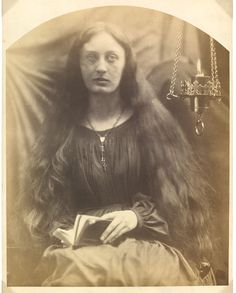 May Prinsep by Julia Margaret Cameron, England, Victoria and Albert Museum Julia Margaret Cameron Photography, Julia Cameron, Vintage Photographs, Vintage Photos, Walter Benjamin, Modern Photography, Museum Photography, Rapunzel Hair, Daguerreotype
