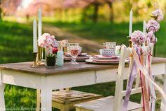 Hochzeitskonzept mit Kirschblüten - exklusive kreative Hochzeitsplanung