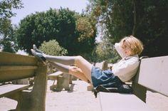"blueblackdream: "" Magdalena Wosinska, Jena Malone for Untitled magazine, 2013 "" Glamour Photography, Fashion Photography, Jena Malone, Cut And Style, My Style, Johanna Mason, Mood And Tone, Summer Lookbook, Body Poses"