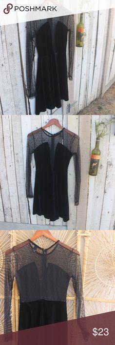 f21Velvet Polka Dot Dress New Without Tags forever 21 size Small  82%polyamide 18%elastane Forever 21 Dresses