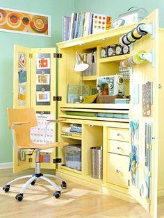 Casa - Ateliê no armário