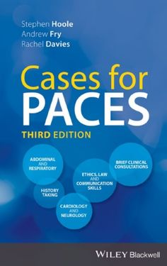 """Read """"Cases for PACES"""" by Stephen Hoole available from Rakuten Kobo. Cases for PACES is concise, ideal for quick reference, and the perfect study aid to Part II of the MRCP examination. Revision Guides, History Taking, 12th Book, Internal Medicine, Neurology, Ebook Pdf, Audio Books, Good Books, Medical"""