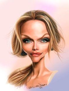 caricaturas graciosas de actrices - Buscar con Google