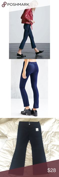 NWT UO Cropped Ankle Stretch Pants/Jeans BDG Brand new with tags no defects. Smoke free pet friendly. Goes with everything- perfect pull on ankle pant to compliment your wardrobe! Urban Outfitters Pants Ankle & Cropped