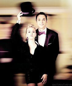 Penny & Sheldon from Big Bang Theory