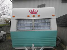 Vintage Shasta Tag-Along Renovated ! CUTE Girly.