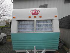 Vintage Shasta Tag-Along Renovated ! CUTE Girly.