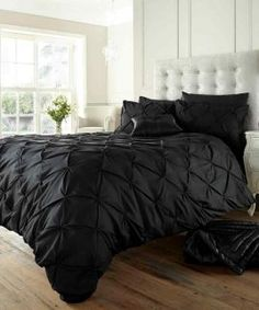 Luxury Duvet Cover King Size Kingsize with Pillowcases Quilt Bedding Set Reversible Poly Cotton, Alford Black Marble Duvet Cover, Black Duvet Cover, Duvet Bedding Sets, Quilt Bedding, King Comforter, Camo Bedding, Gold Bedding, Bedspread, Comforters