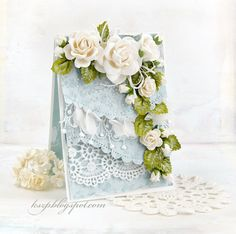 Wild Orchid Crafts: Two cards with roses
